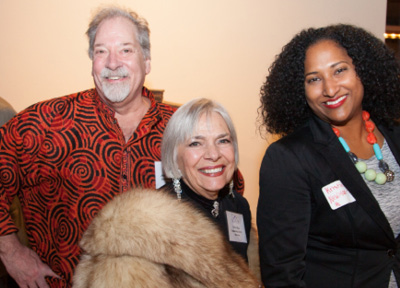 AWARDEES JOHN MARSHALL AND VITA MUIR WITH KRISTINA NEWMAN-SCOTT